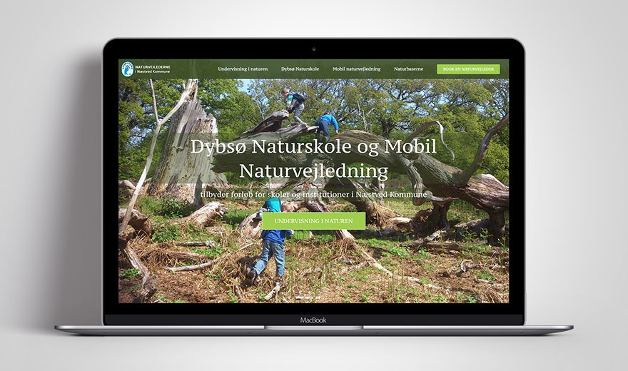 Næstved Natur website