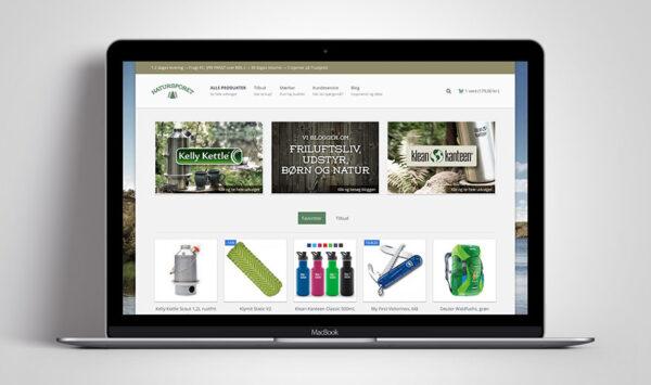 Natursporet webshop